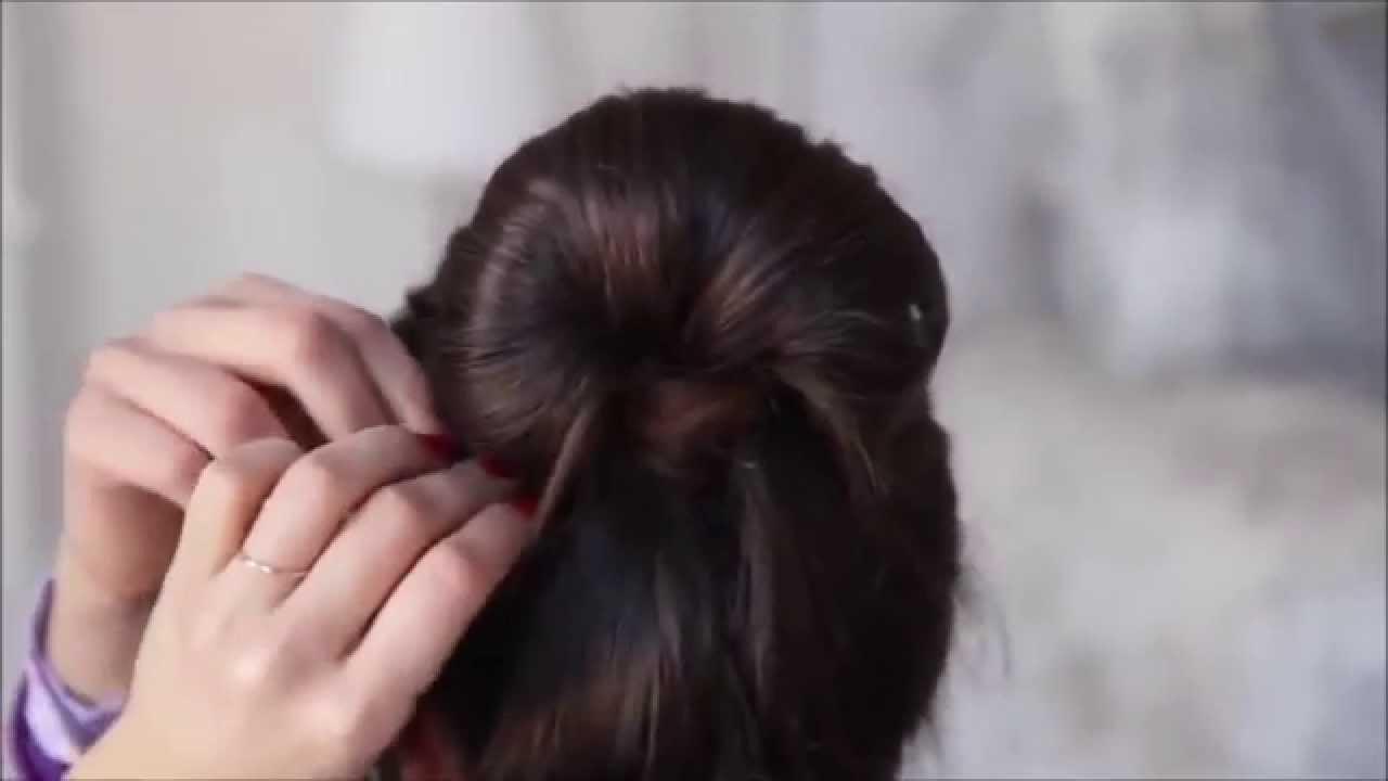 Красивая прическа своими руками короткие волосы
